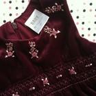 Платье бархатное для девочки