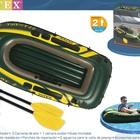 Надувная двухместная лодка Intex, комплект, 68347 интекс ПВХ