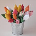 Тюльпаны в ведерке