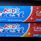 Детская зубная паста Crest Kids Sparkle Fun - 130гр.- оригинал usa