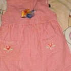 платье х/б на ребенка 3-5 лет