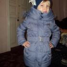 Качественное пальто для девочек на весну/осень в наличии. Венгрия.