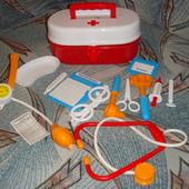 Аптечка Набор медицинских инструментов доктора в коробочке чемодане 12эл. произв.Украин новый дизайн