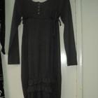 Трикотажное серое платье.Распродажа!!!!