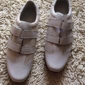 Мужские белые кроссовки Gucci
