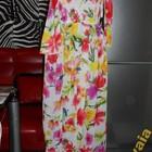 Супер яркий стильный ❤ Шифоновый сарафан Цветы! р 44 ❤