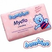 Детское мыло Bambino с ланолином, Польша, 90 грамм
