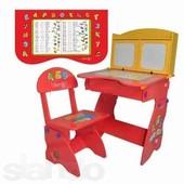 Регулируемая детская парта растишка со стульчиком W 077