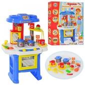 Детская Кухня с аксессуарами. звук, свет. 08912