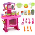 Детская Кухня с посудкой. музыка, свет 661-51