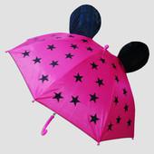 Зонт с ушками Микки Mickey для девочки. Очень симпатичный
