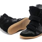 Кроссовки Isabel Marant замш-кожа в наличии cникеры, cникерсы Sneakerc