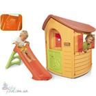 Игровой домик с горкой Smoby 310151