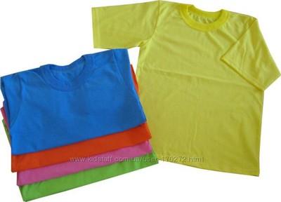 Чорні шорти і білі футболки, однотоні 98-140см, форма для дитячого садочка фото №1