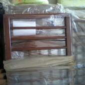 Детская кроватка Мальвина, Новые, темная с ящиком, 1050 грн