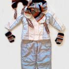 Зимний термо комбинезон с курткой Girl2girl на 3-5 лет. Термо комбинезон.