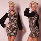 В наличии Красивое леопардовое платье в стиле Redial