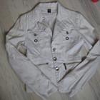 Коттоновая курточка-пиджак 44 р. подарок к покупке