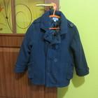 Пальто чёрное на синтепоне на мальчика 5-6 лет