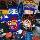 Шапки,шарфы спортивные клубные от 40-55 грн.Футбольная форма.