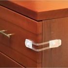 Универсальный гибкий замок 12,18 см (2 шт.) для дверей холодильников, ящиков, шкафов Безопаски