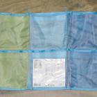 Подвесные карманы в детскую комнату, сетка для игрушек Ikea, Синий. Наличие Луганск