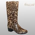 Гламурные резиновые сапоги леопард