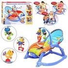 Кресло-качалка детское аналог Fisher Price Deluxe 2в1, детский шезлонг качалка аналог фишер прайс