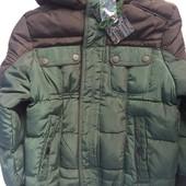 Очень теплая куртка зимняя Picken на овчинке.от 5 до 12лет.