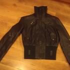 Куртка новая коричневая екокожа размер 36/38