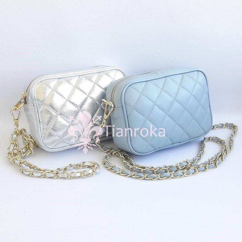 Маленькая стеганая сумка-клатч в стиле chanel. 5 цветов! натуральная кожа,  италия a35074cee1b