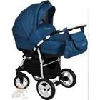 Детская универсальнавя коляска 2 в 1 Aneco Venezia цвет: 3, синий . Польша