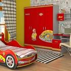 Кровать-машинка Спорт