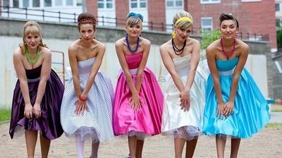Платья в стиле стиляги фото №1