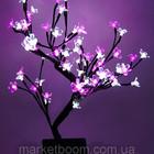 Подарки любимым,на день влюбленных. светодиодное дерево бонсай цветущая сакура 45 см