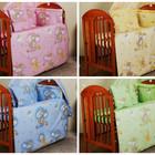 Комплект постельного белья в детскую кроватку из 7 эл. (без балдахина)