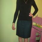 Теплая юбка карандашь