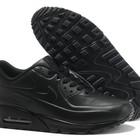 Кроссовки Nike Air max 90 Vt tweed - черные (кожа Vt)