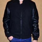 Куртка мужская сезон весна-осень с вставками под кожу в наличии размеры