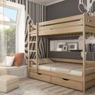 Двухъярусная кровать Дуэт бук щит