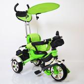 Детский трехколесный велосипед Lexus trike kr-01 пневморезина