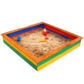 Песочница для детей,деревянные песочницы,для сада Pes-25
