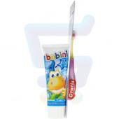 Детский набор для зубной гигиены от 6-ти лет Bobini, Польша