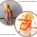 Стульчик для кормления Capella «Piero Horse» orange
