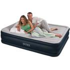 Надувная матраc - кровать Intex, 67738 с эл. насосом (203*157*48 см)