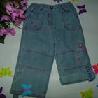 ╰⊰✿♥ Летние джинсы-капри 2 в1 Сhilled Chick на 12-18 мес,рост 74-86 смღ✿⊱╮