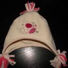 деми шапка 3-6 мес состояние новой