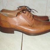 Bata итальянские кожаные  туфли 45