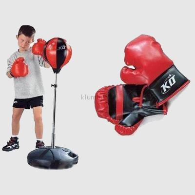 Бокс на стойке. груша + перчатки. 0331, 0332, 0333, фото №1