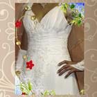 Прелестное свадебное платье с аксессуарами по приемлемой цене. 46-48р.